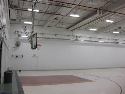 Basketball Gym Heating
